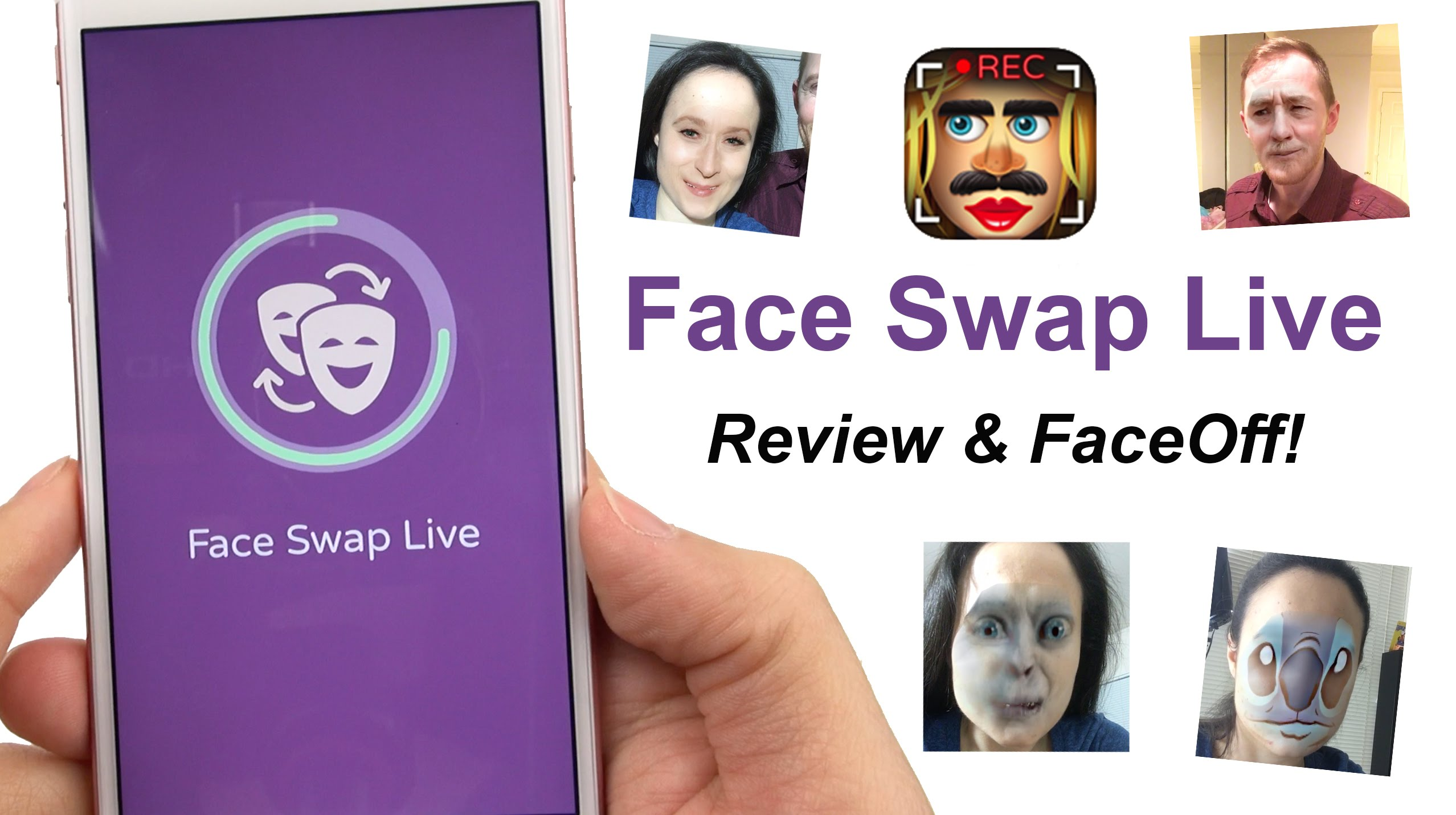 Face Swap Live App Review & FACE OFF!