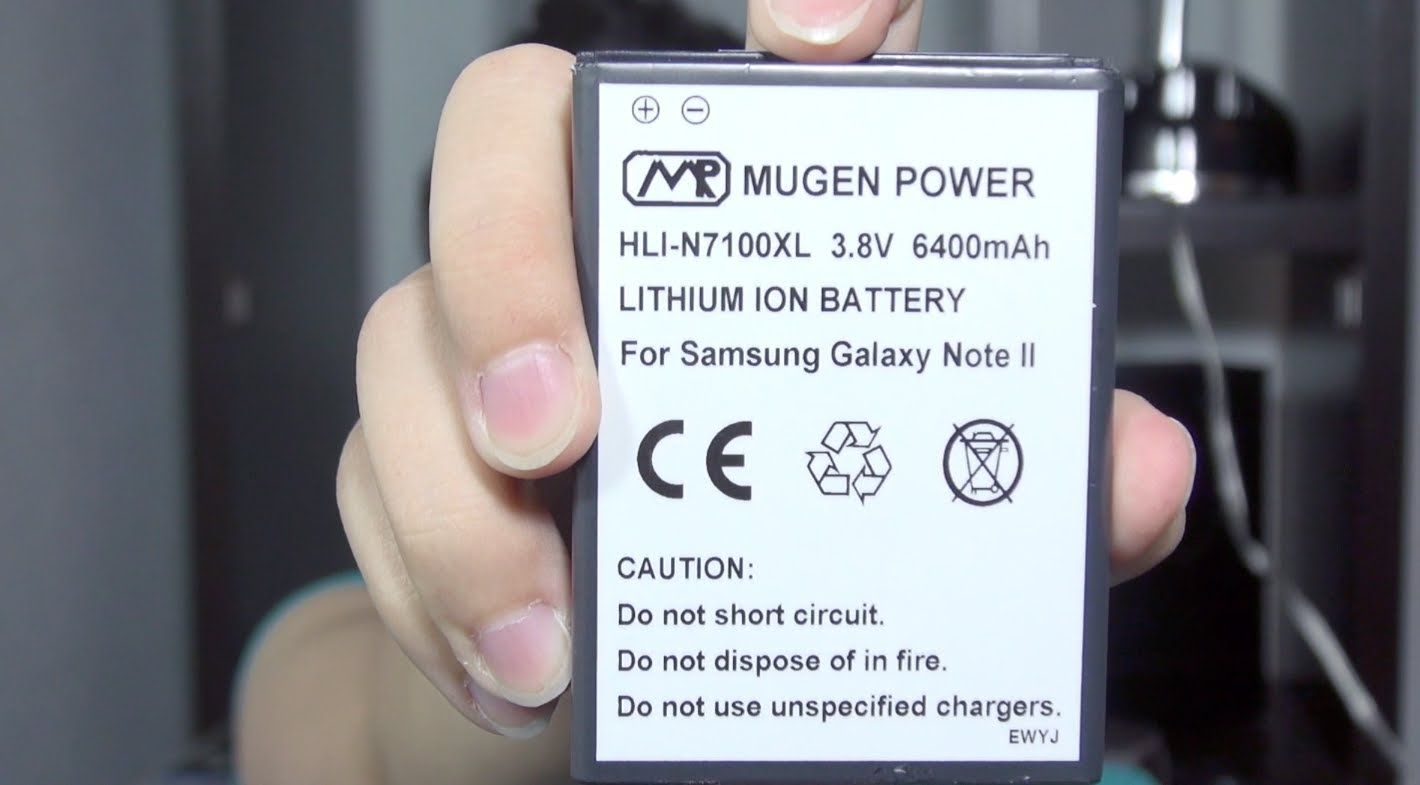 Galaxy Note II *6400mAh Mugen Power Battery Review*