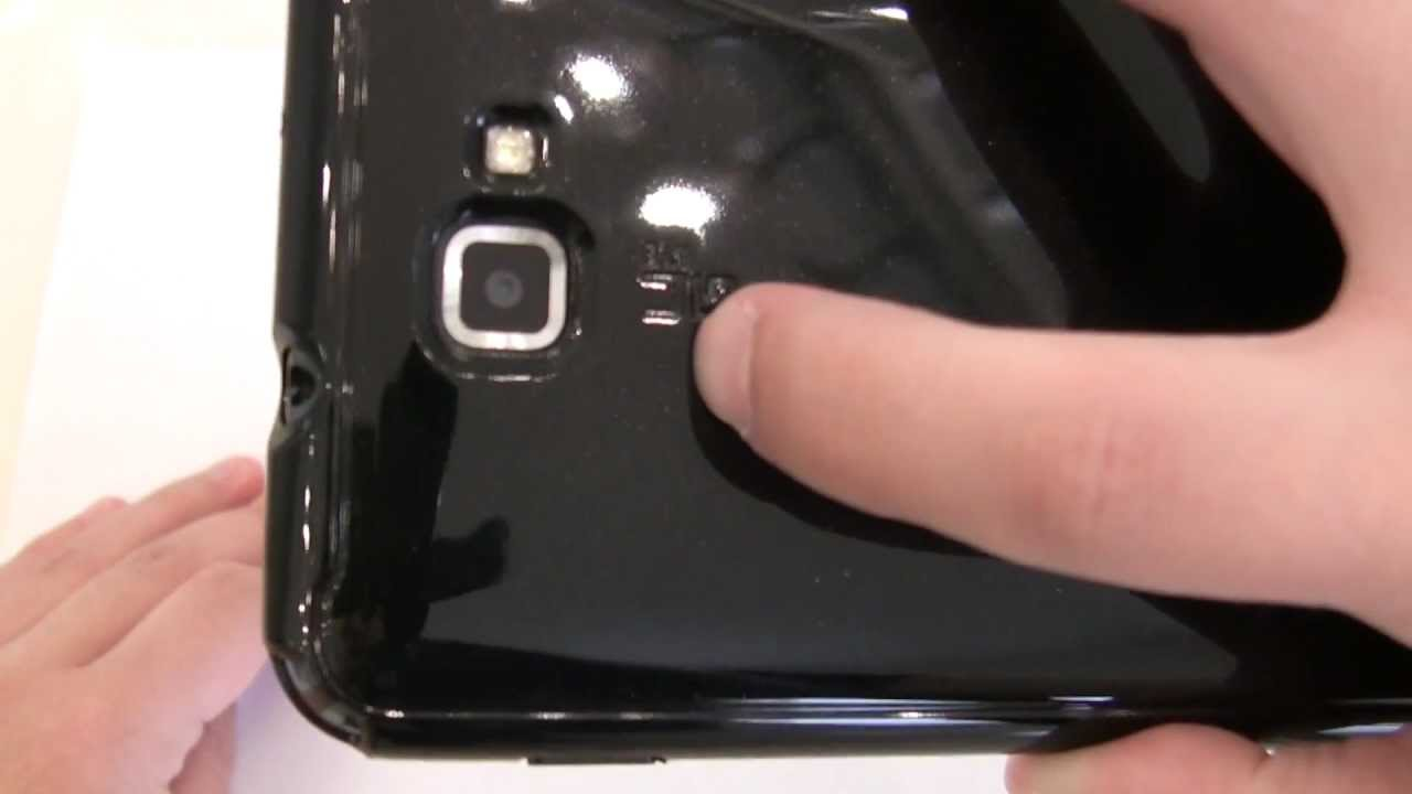 *Galaxy Note* Spigen SGP Ultra Capsule CASE REVIEW