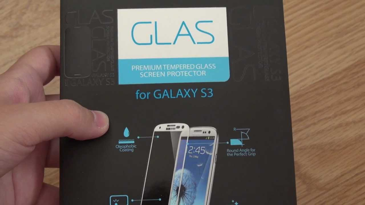 *Galaxy S3* Spigen SGP Glas Screen Protector Review
