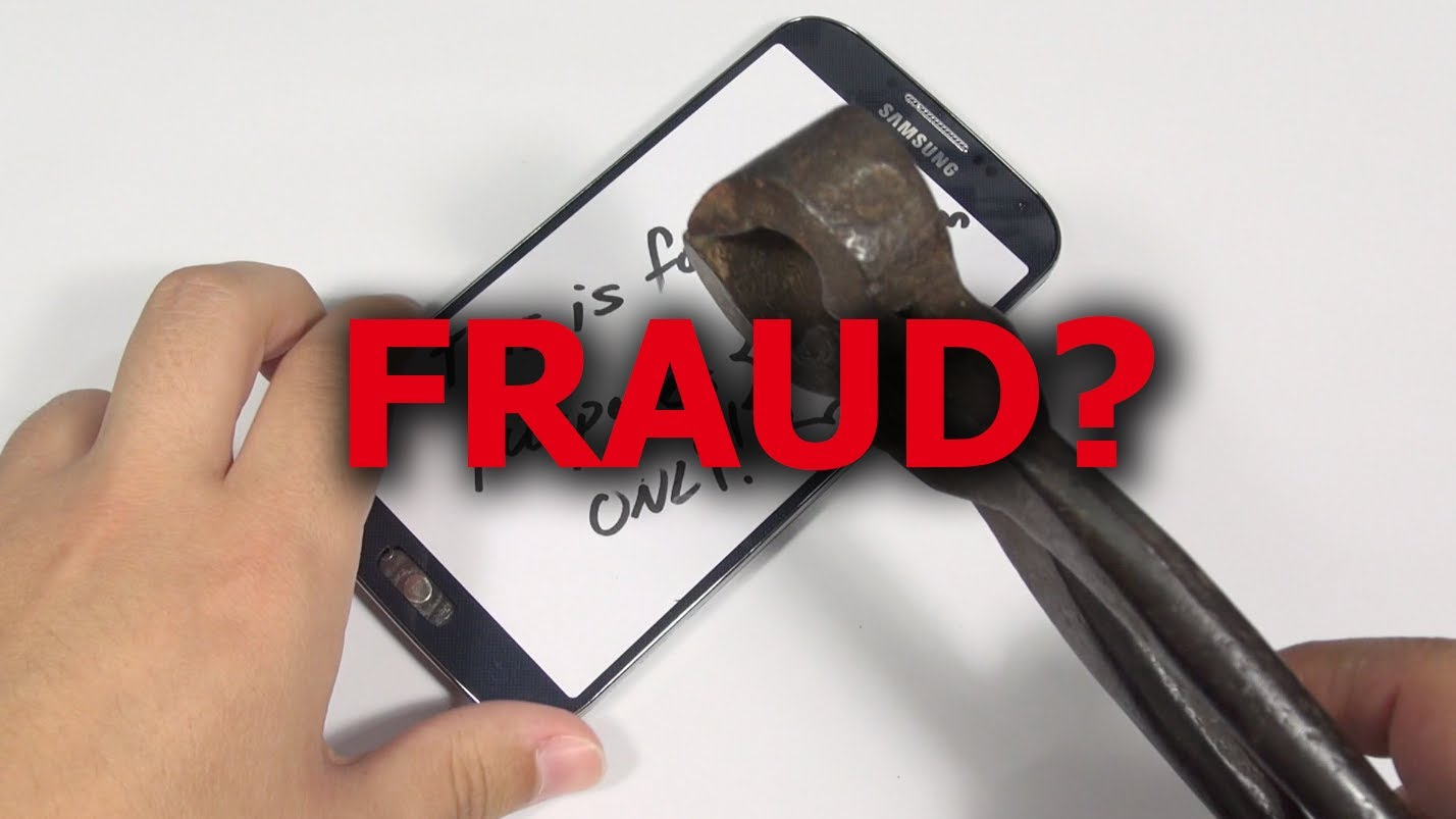 Galaxy S4: Dangerous Fraud Replacement Parts