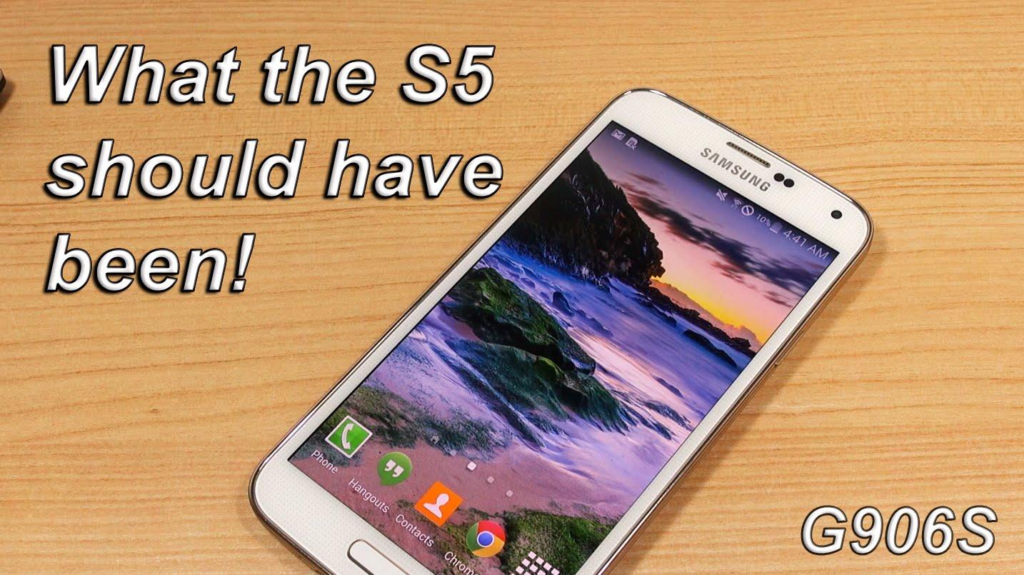 Galaxy S5 vs Galaxy S5 (S805 Quad HD)