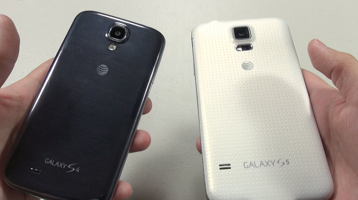 Galaxy S5 vs S4: First Impressions and Comparison