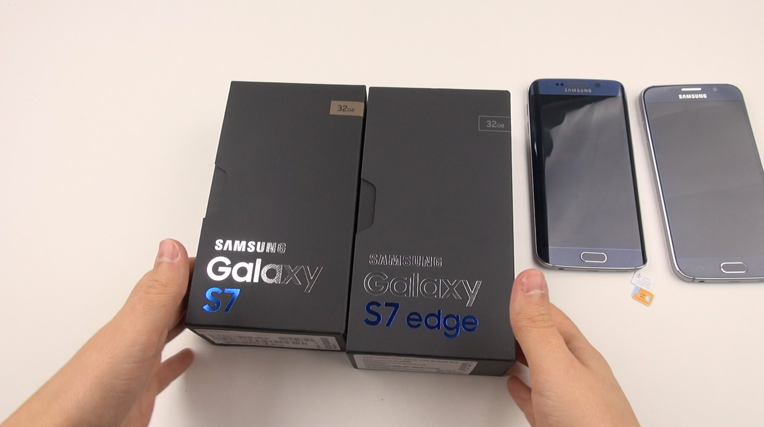 Galaxy S7 & S7 Edge Double Unboxing: The Carrier Experience