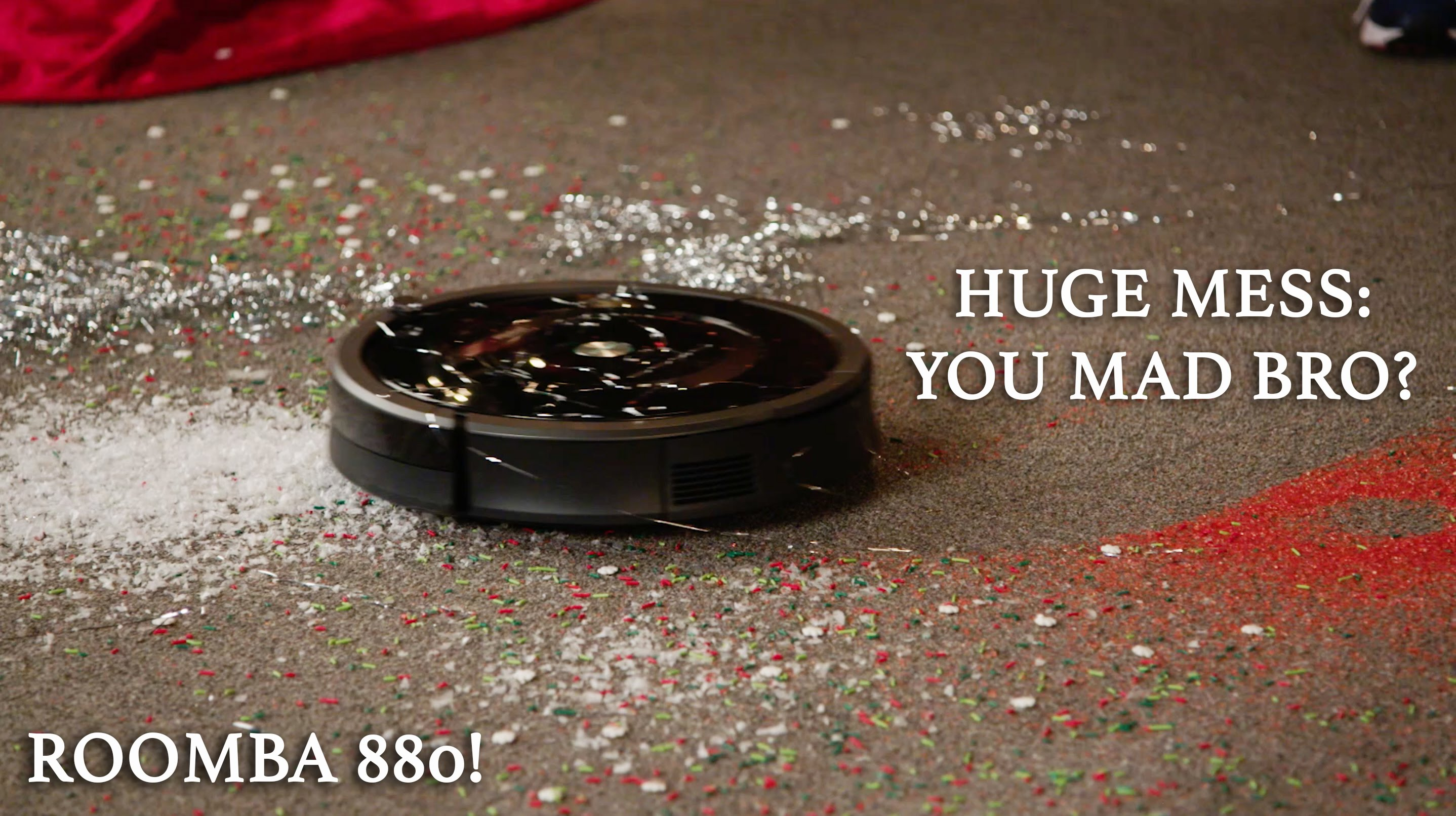 iRobot Roomba 880: Did It Clean The Huge Mess? || AWESOME STUFF WEEK: GIFT GRAB