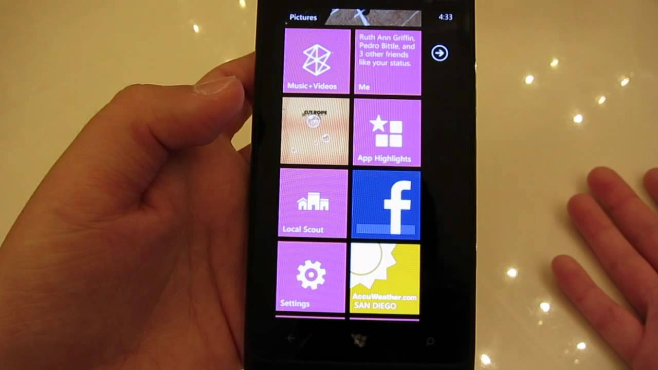 Lumia 900 Advanced Overview and Unboxing (Canon S100 test)