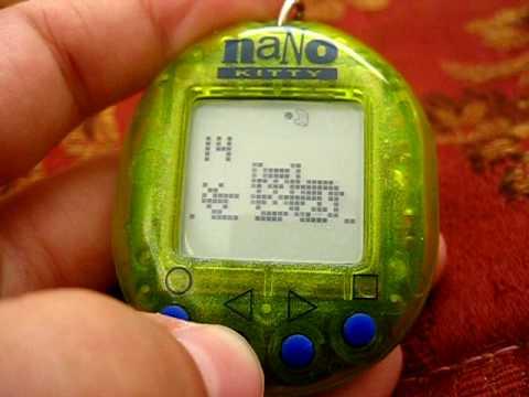 Nano Kitty – Playmates -1997 Virtual Pet