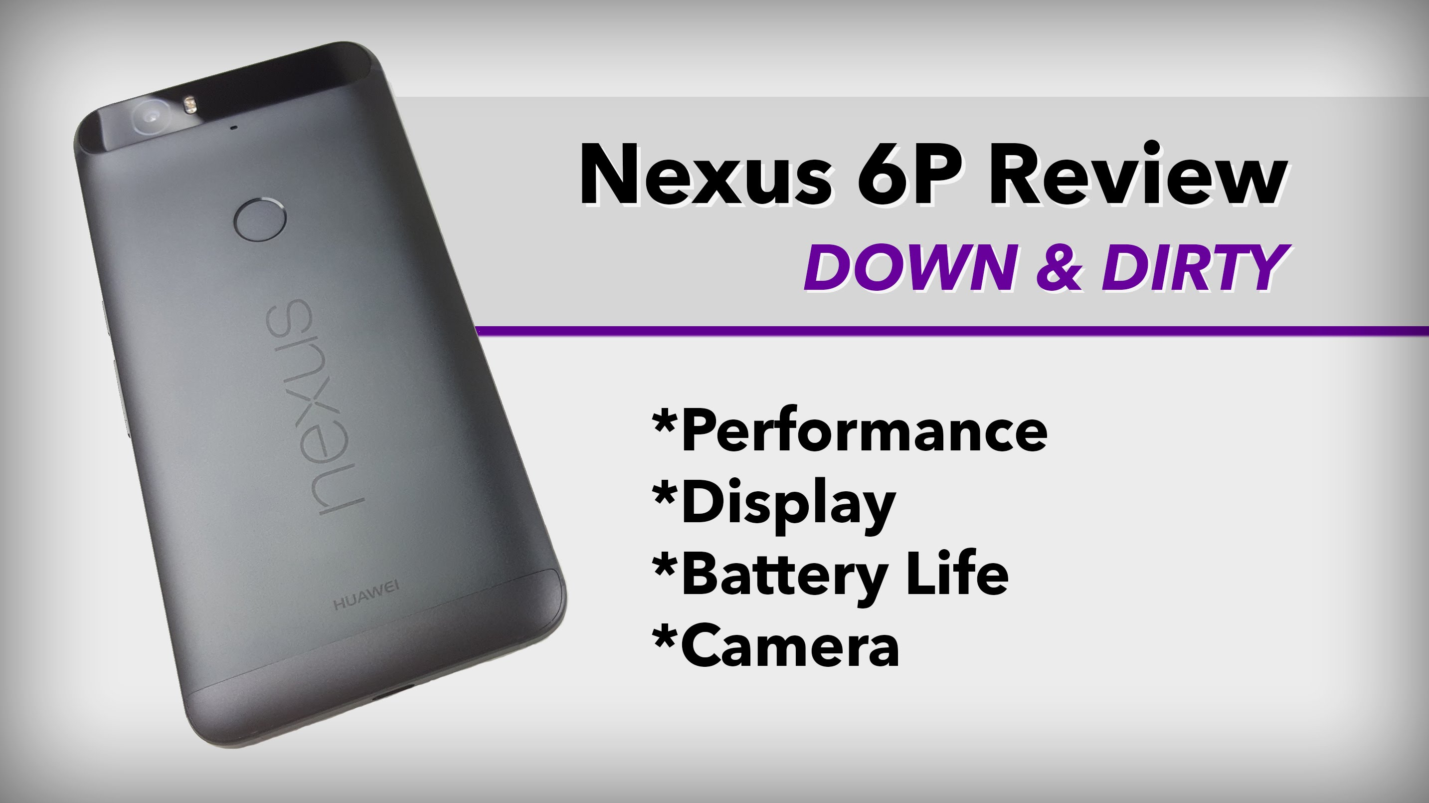 Nexus 6P Review: Down and Dirty