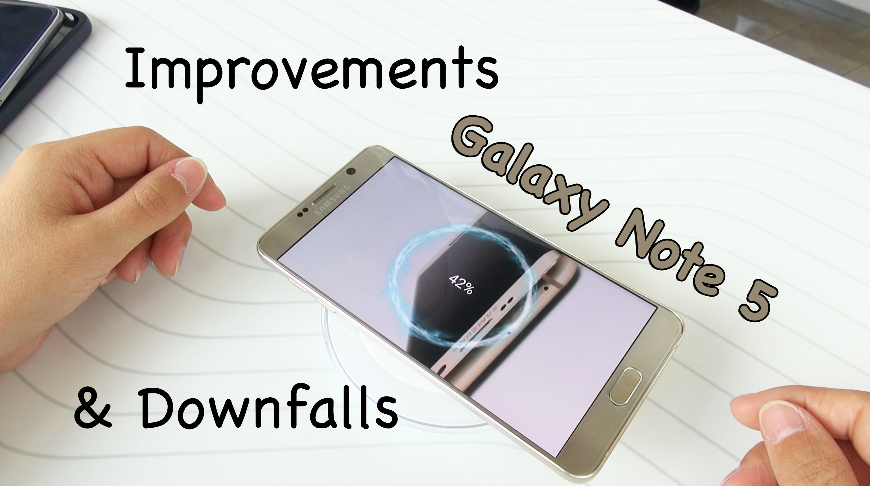Samsung Galaxy Note 5 Downfalls and Improvements: Hands On