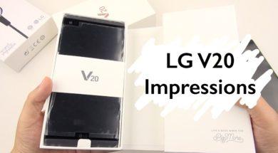 LG V20 Unboxing & Impressions: Questions Anyone?!