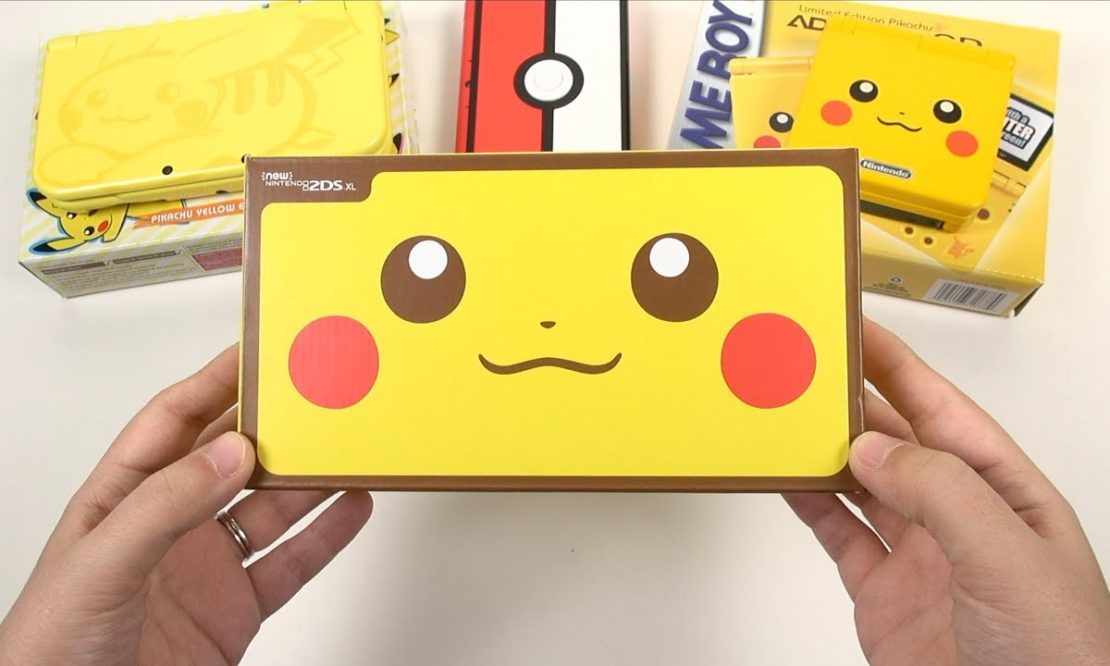Pikachu Edition: 2DS XL Unboxing & Comparisons