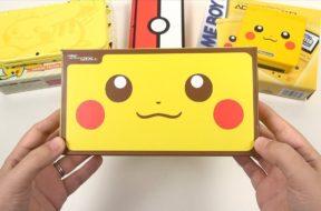 Pikachu Edition: 2DS XL Unboxing & Comparisons