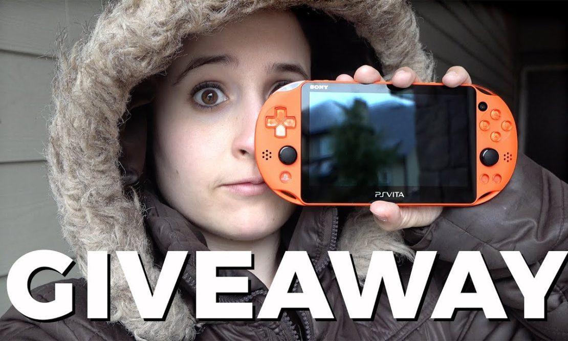 Neon Orange || PS Vita 2000 Giveaway! (International)