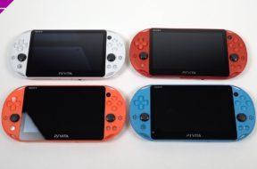 PS Vita: Which Color is Best? (Color Comparison)