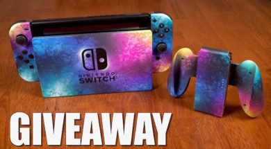 Nintendo Switch Giveaway (Galaxy Edition) + New 3DS