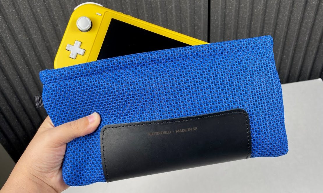 3 Best Switch Lite Cases On the Market: Waterfield (Pouch, Slip Case, CitySlicker)