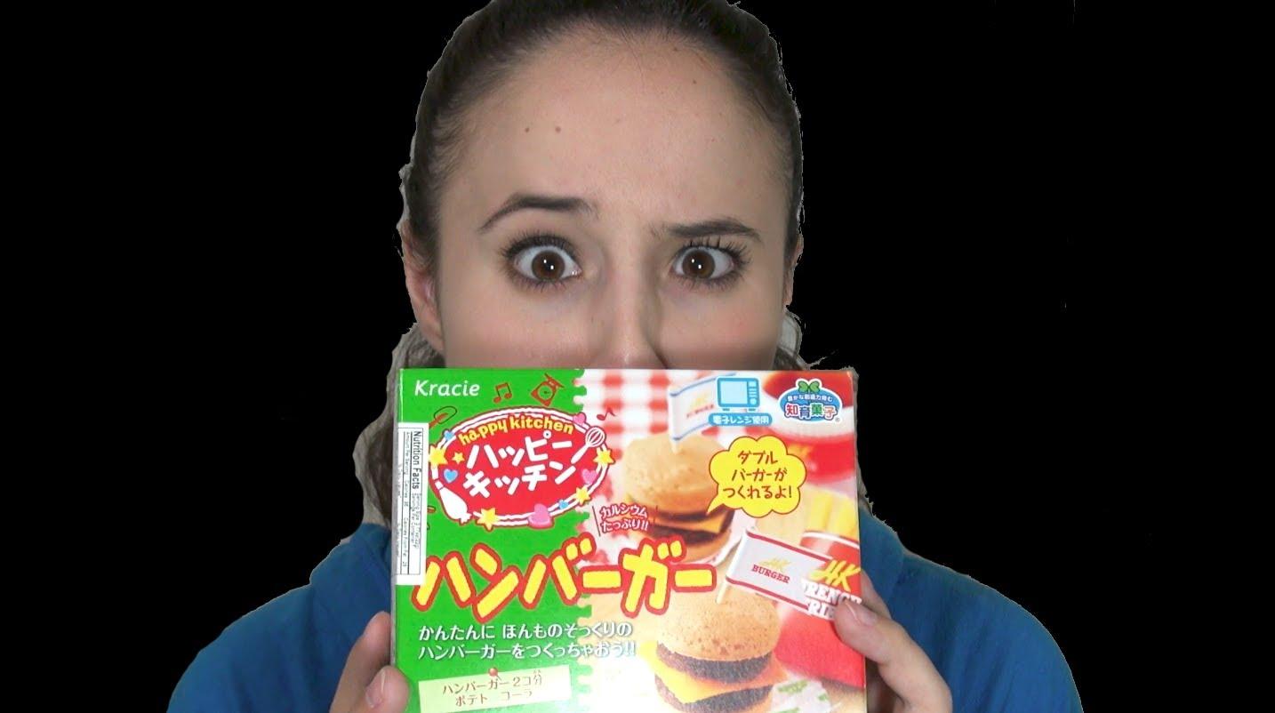 Diabolical Foods: Kracie Happy Kitchen Hamburger