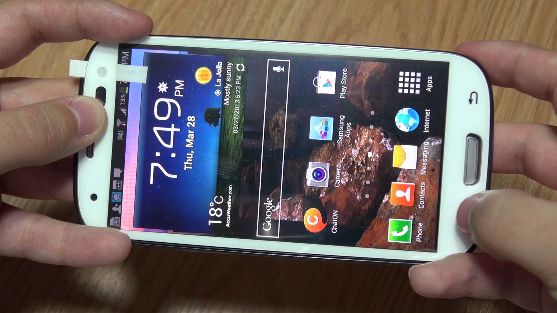 Galaxy S3 iloome ScreenMate Tempered Glass Screen Protector Review