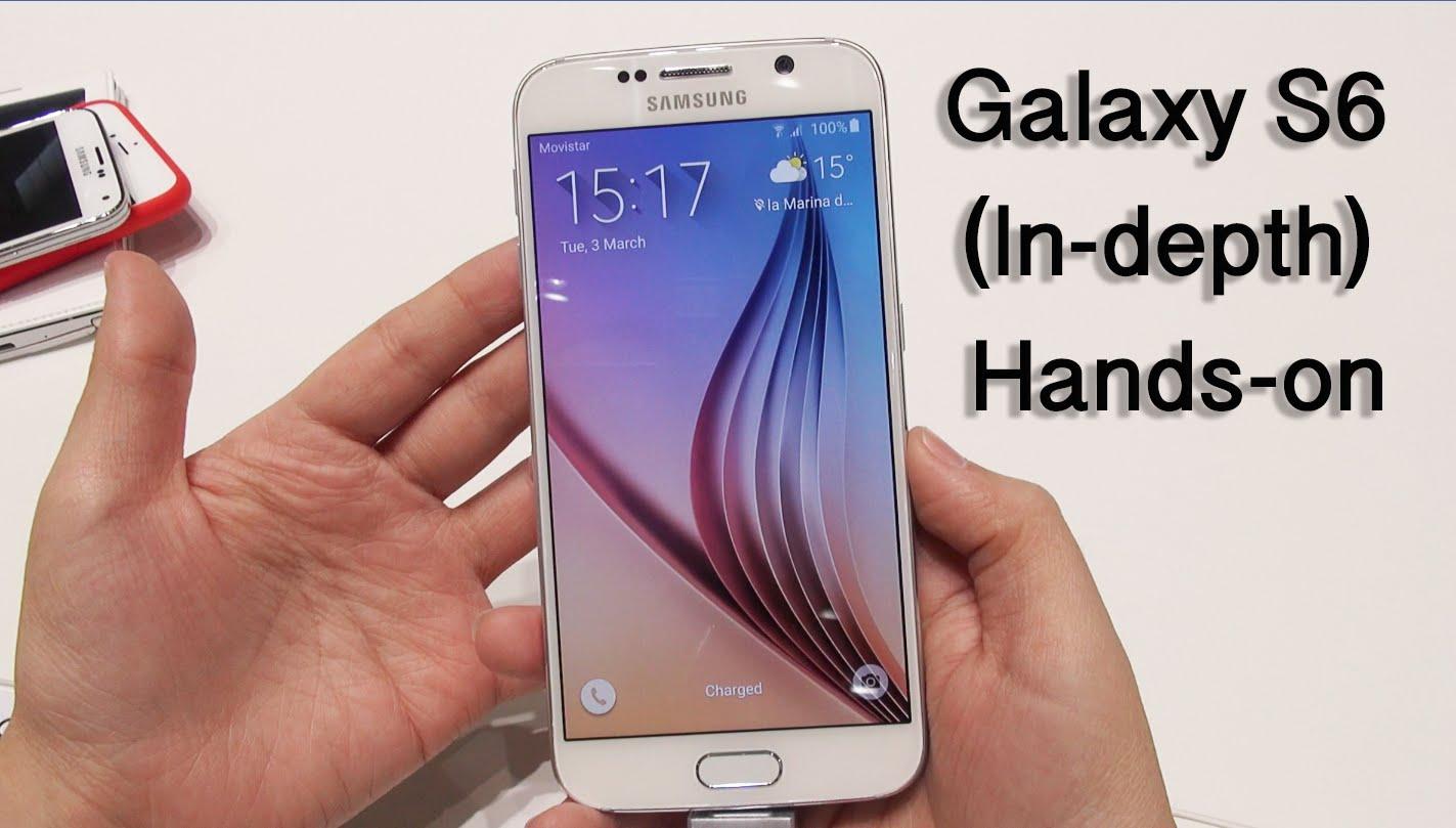 Galaxy S6: In-depth Hands-On & Walkthrough