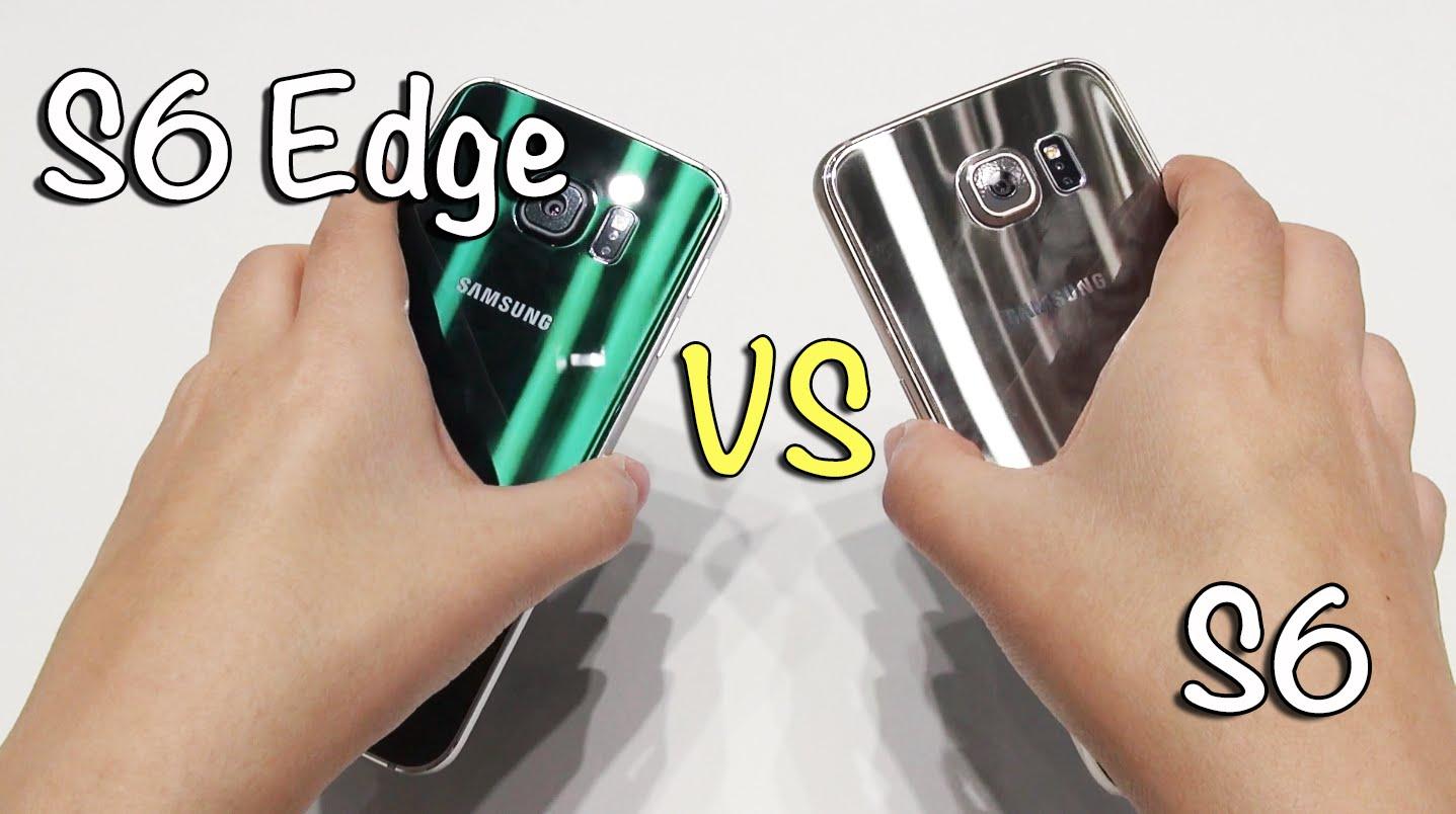Galaxy S6 vs Galaxy S6 Edge: Usability