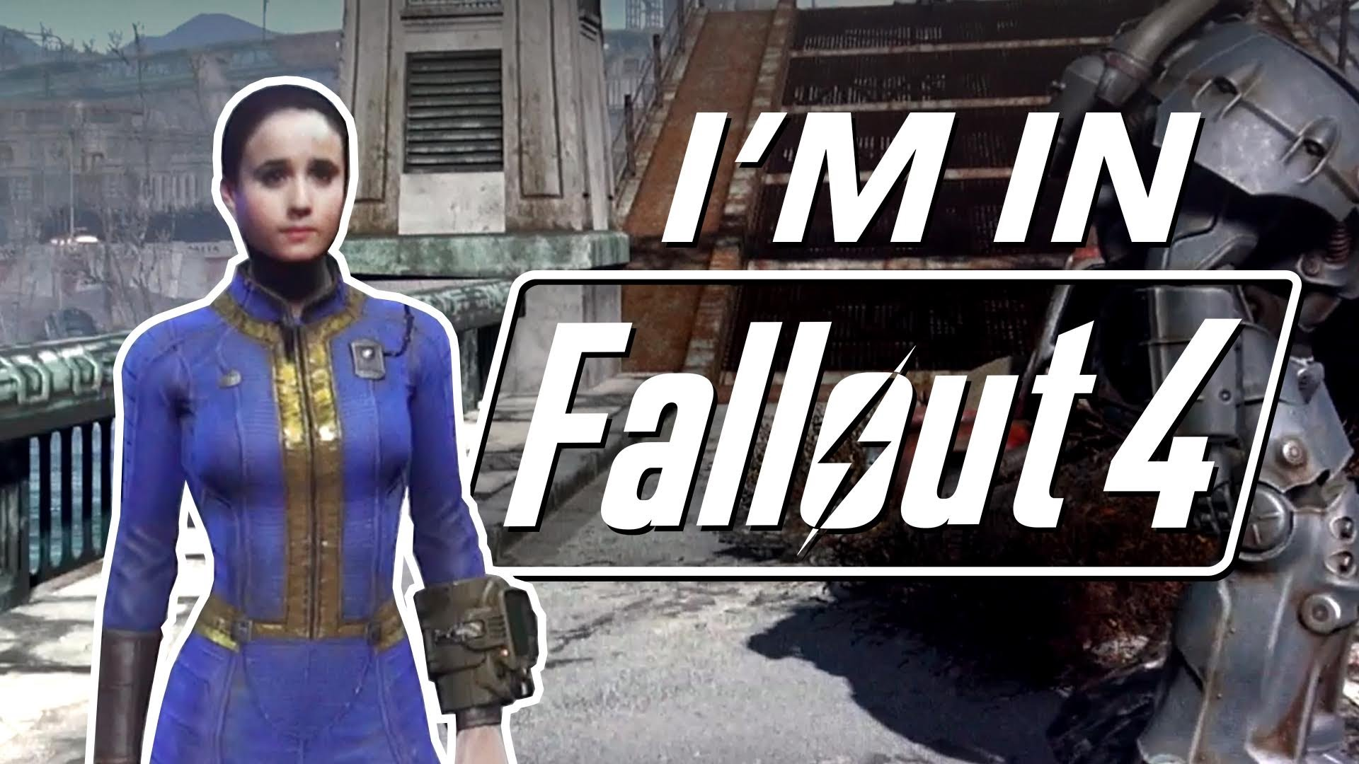 I'm Inside Fallout 4! || Intel CES 2016