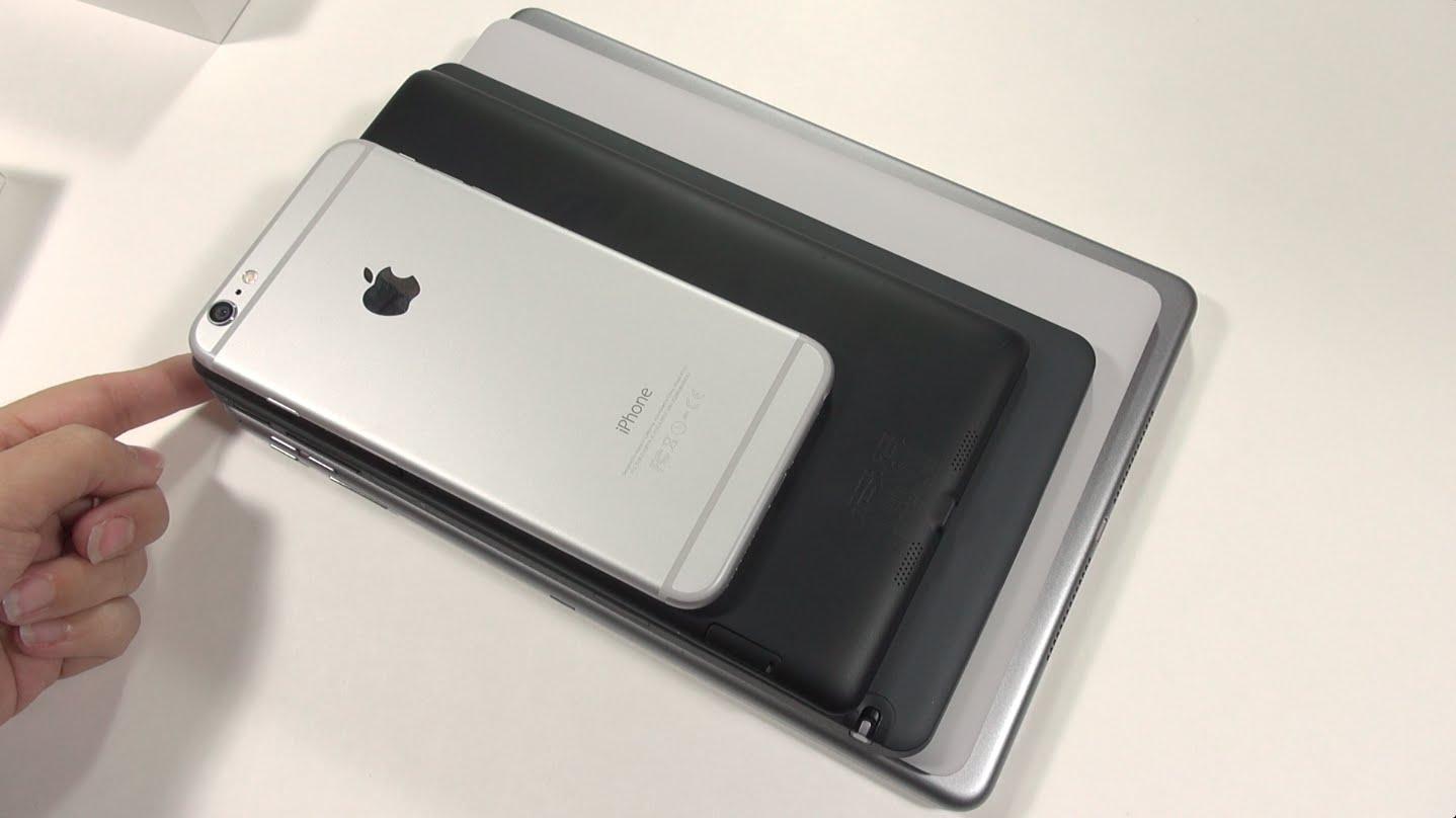 iPad Air 2 vs Nexus 9: Hands On