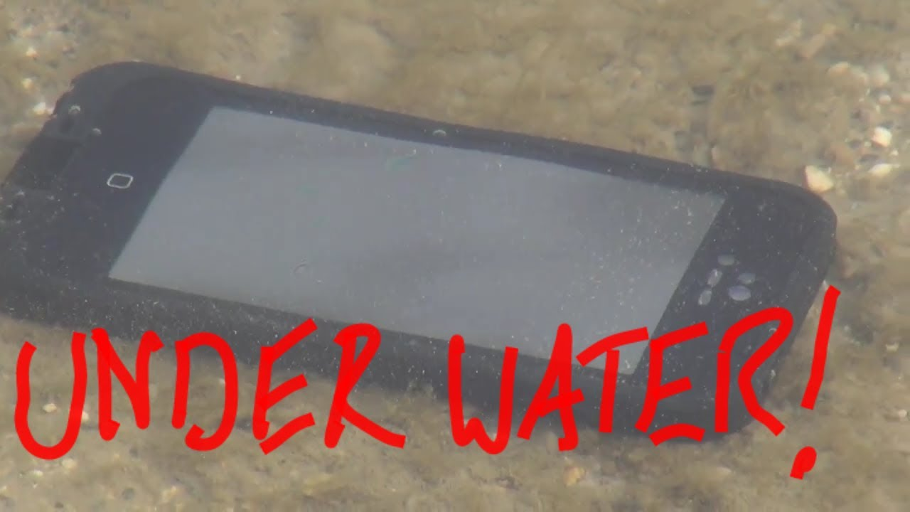iPhone 5 LifeProof Case *Torture Tests: Snow, Ice, Water, Ground*