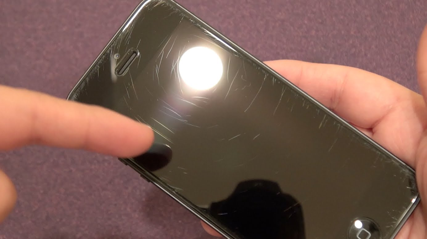 *iPhone 5 Spigen SGP GLAS.tR* Strength Test and Review
