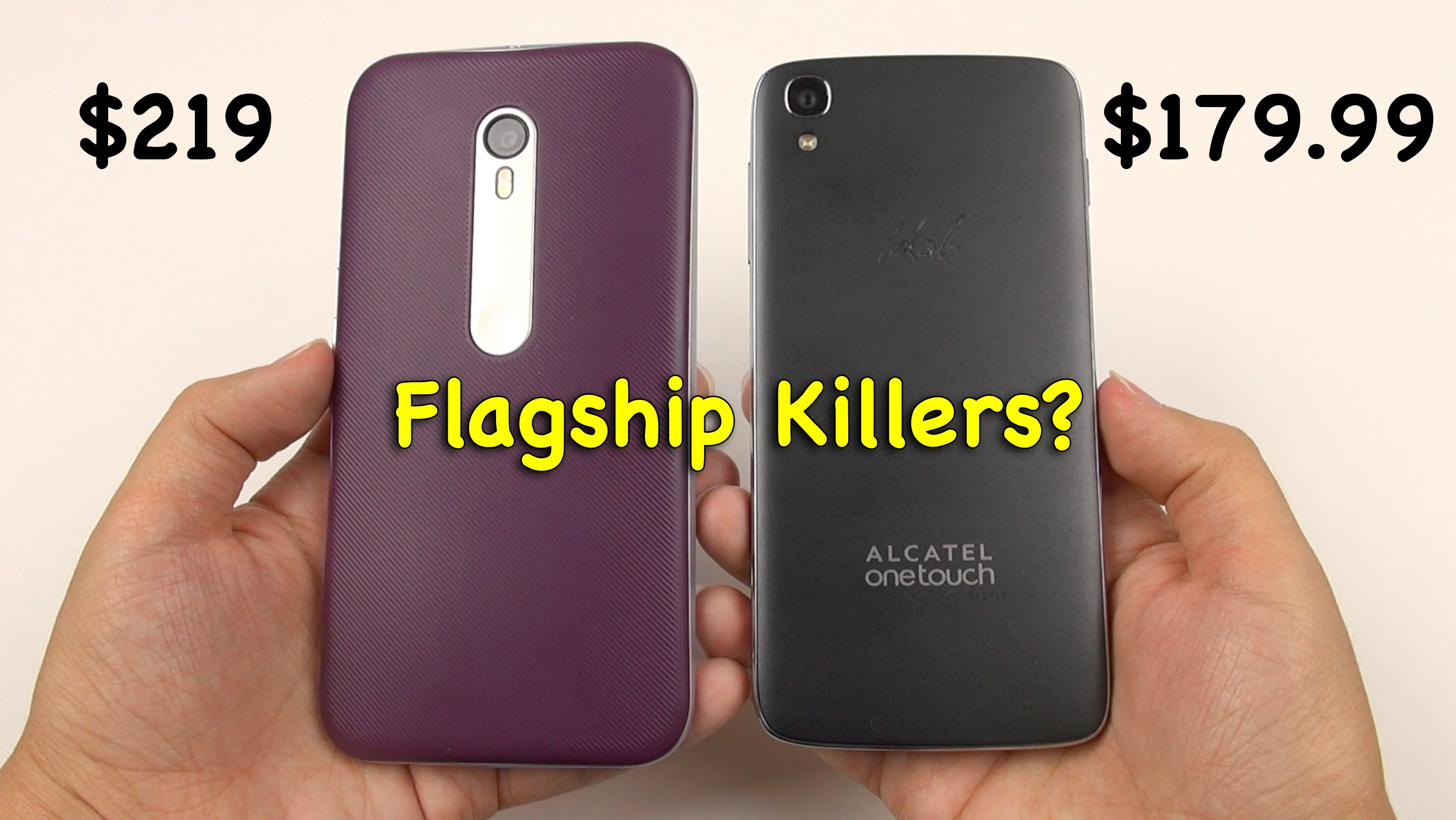 Moto G 2015 vs Idol 3 4.7: Flagship Killers?