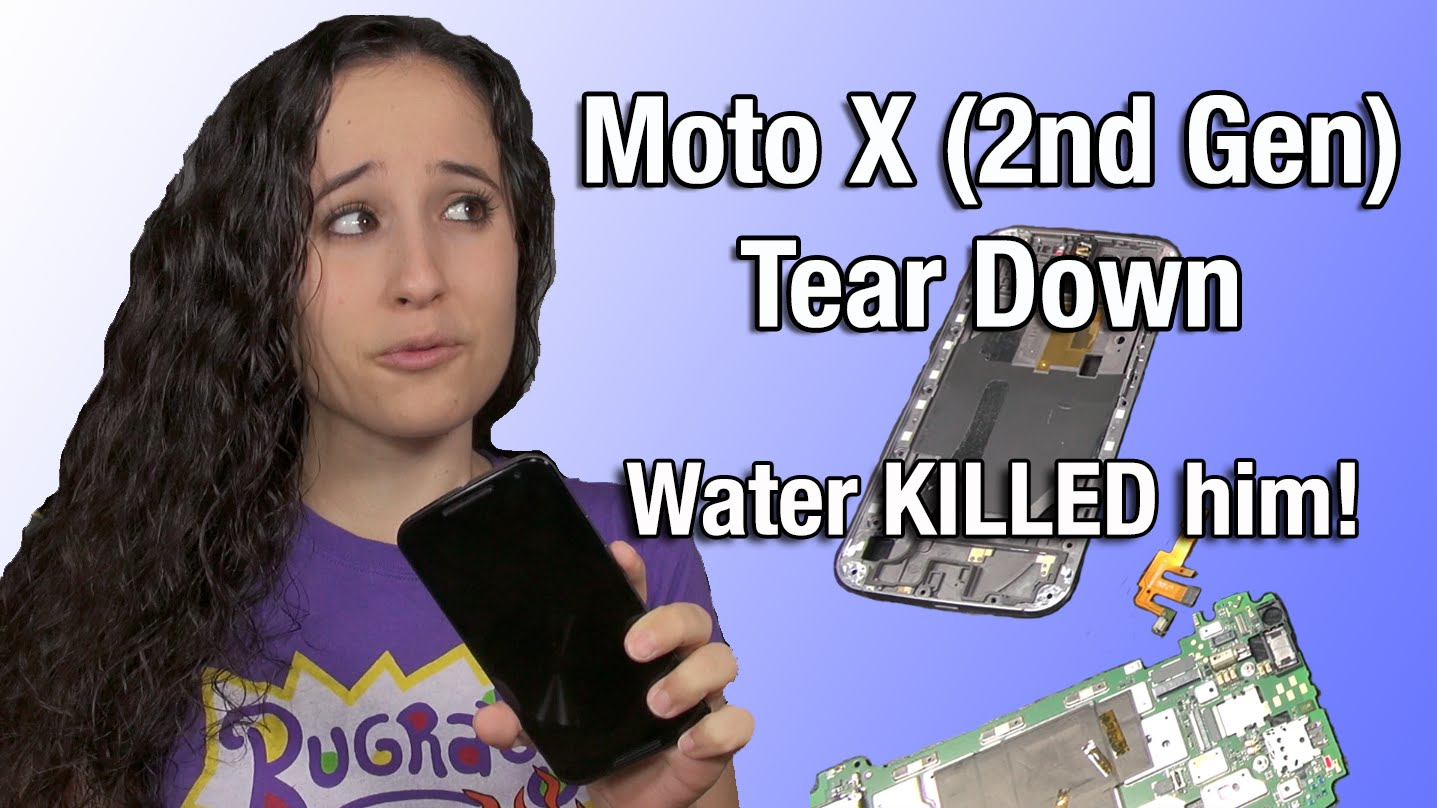 Moto X (2nd Gen): Tear Down and Exploration