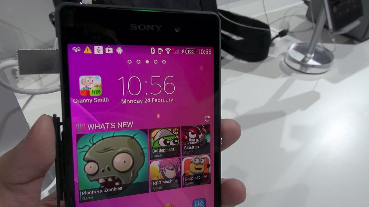 Sony Xperia Z2 Impressions and Hands-on