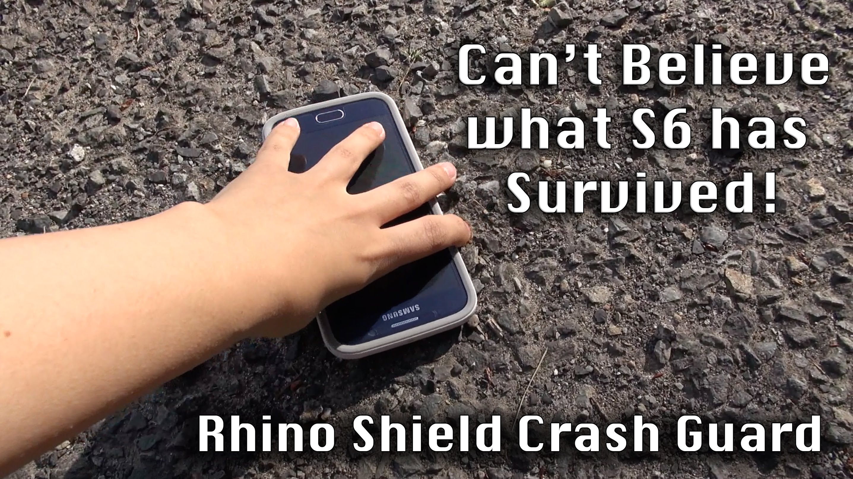 Unbreakable Galaxy S6: Rhino Shield Crash Guard