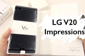 LG V20 Unboxing & Impressions: Questions Anyone?!
