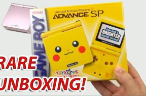 STUPIDLY RARE Unboxing: Pikachu Gameboy Advance SP