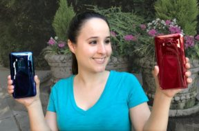 HTC U11: SOLAR RED vs Sapphire Blue || Unboxing & Outdoor Footage