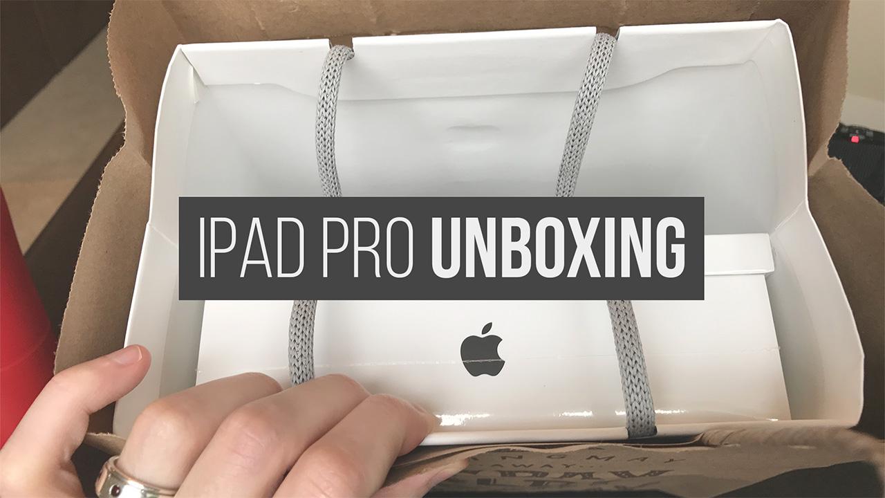 iPad Pro Unboxing (Photos)