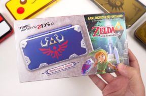 2DS XL Hylian Shield Edition: Unboxing & Comparisons