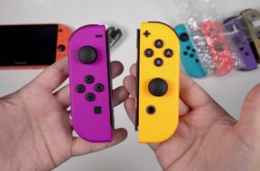NEW Neon Orange & Purple Joy-Con: Color Comparisons!