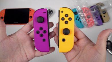 NEW Neon Orange & Purple Joy-Con: Color Comparisons!