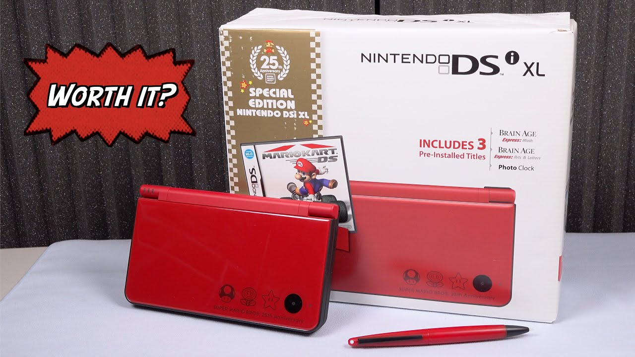 DSi XL Still Worth it in 2020? Heck yes!