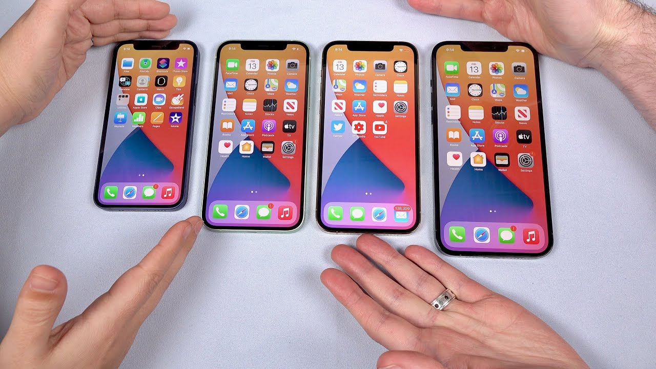 iPhone 12 Mini to Pro Max: Get the Right Size! (Small vs Large Hands)