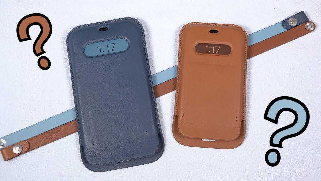 Weirdest Apple Accessory Ever || iPhone 12 Leather Sleeve (Review)