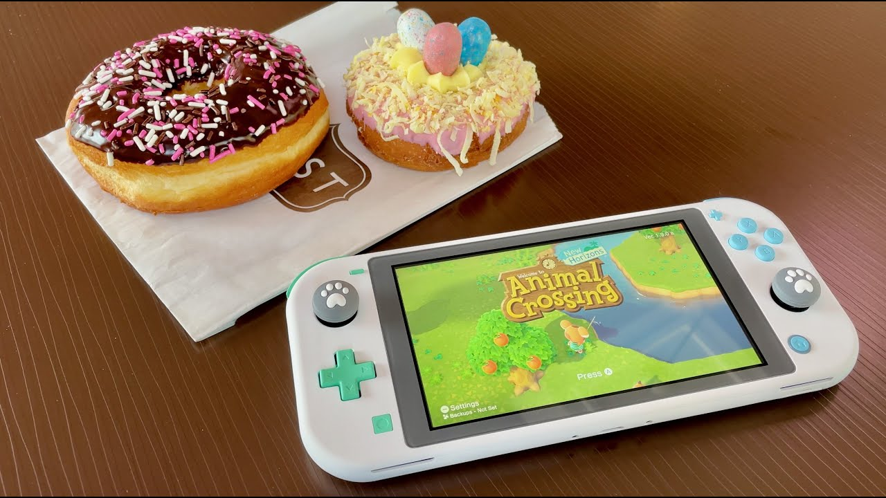 Animal Crossing Edition Switch Lite! (DIY Tutorial)