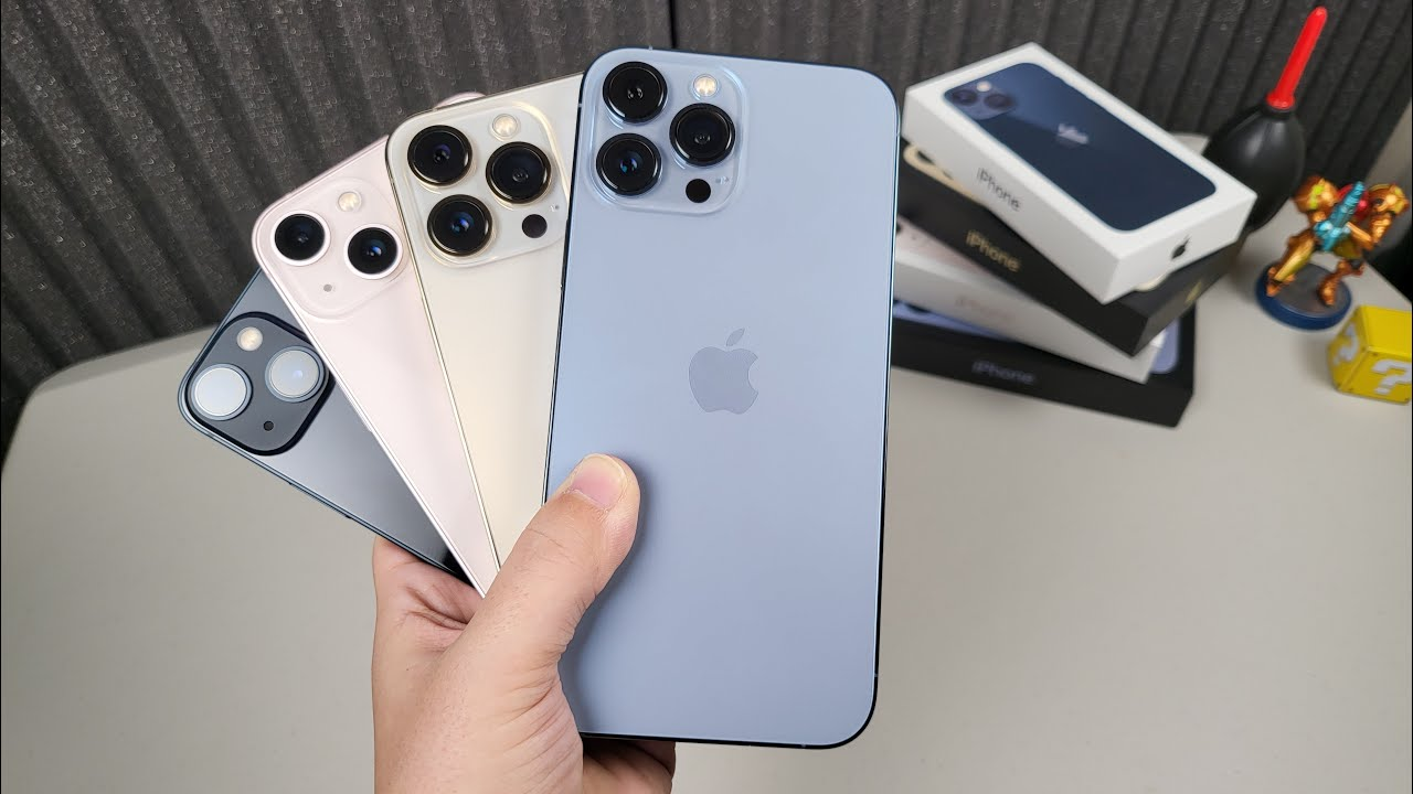 iPhone 13 Lineup Impressions: Must Go PRO!